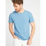Soft-Washed Perfect-Fit Crew-Neck Tee for Men Hi, I'm New
