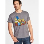 The Simpsons Graphic Tee for Men
