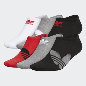 Mens Originals Trefoil Superlite No-Show Socks 6 Pairs