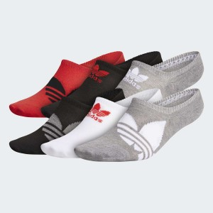 Mens Originals Trefoil Superlite Super-No-Show Socks 6 Pairs