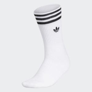 Mens Originals 3-Stripes Welt Mid-Crew Socks