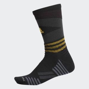 Mens Basketball Speed Mesh Team Crew Socks