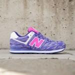 New Balance Big Kids 574 - KL574SQG (purple)