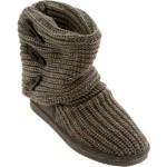 Bearpaw Women Knit Tall Boot (gray)