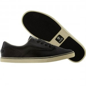 Radii Noble Low (black leather / cream)
