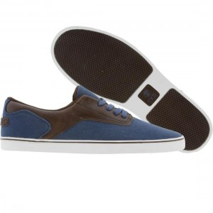 Radii Noble Low (navy / chocolate)