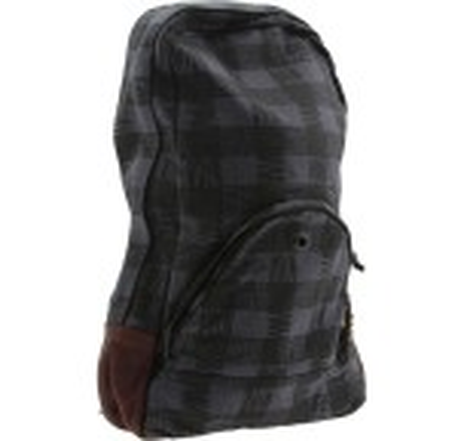 Stussy Buffalo Plaid Backpack (black)