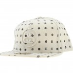 Stussy Double S Logo New Era Fitted Cap (white)