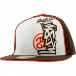 Stussy Mixed Up Fitted Cap (brown)
