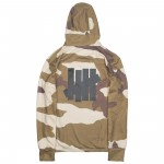 Adidas x Undefeated Men Running Tech Hoodie (tan / dune / tactile khaki / base khaki)