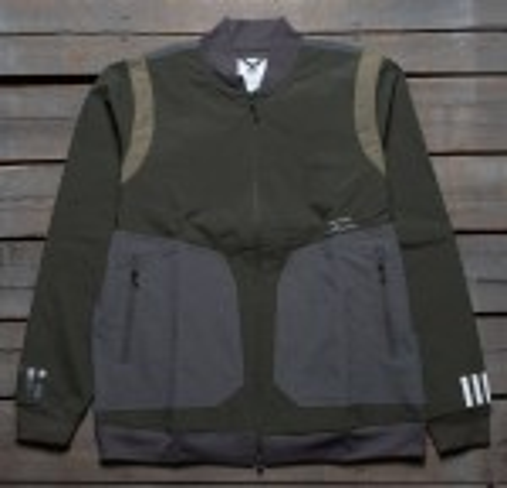 Adidas Men White Mountaineering Varsity Jacket (olive / night cargo)