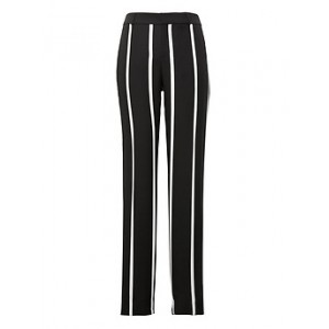 Petite Avery Straight-Fit Stripe Ankle Pant