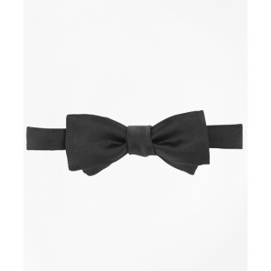 Satin Square End Self-Tie Bow Tie