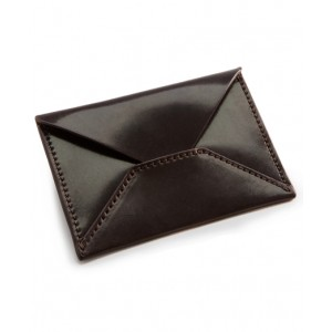 Cordovan Business Card Holder