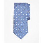 Boys Chicken and Egg Print Tie