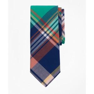 Boys Madras Print Tie