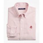 Boys Non-Iron Club Stripe Sport Shirt