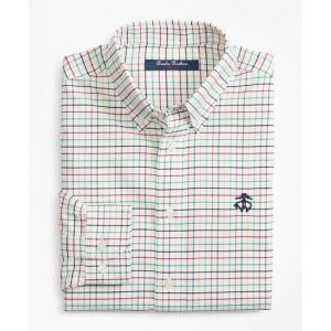Boys Non-Iron Supima Cotton Check Sport Shirt