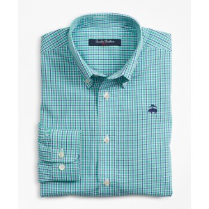 Boys Cotton Mini Check Sport Shirt