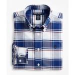 Boys Non-Iron Oxford Bold Check Sport Shirt