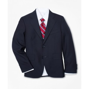 Boys Two-Button BrooksEase Junior Jacket