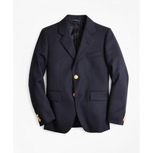 Boys Two-Button Wool Blazer