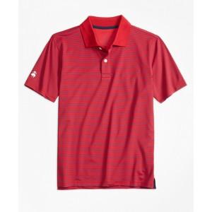 Boys Stripe Performance Series Polo Shirt