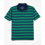 Boys Performance Series Track Stripe Polo Shirt