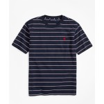 Boys Cotton Short-Sleeve Stripe T-Shirt