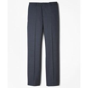 Boys BrooksEase Prep Plain-Front Suit Pants