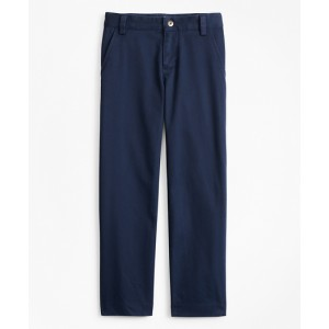Boys Washed Cotton Stretch Chinos