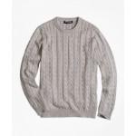 Boys Crewneck Cable Sweater