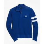 Boys Cotton Half-Zip Sweater