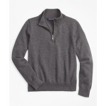 Boys Supima Cotton Half-Zip Sweater