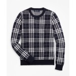 Boys Cotton Plaid Sweatshirt