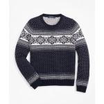 Boys Wool-Blend Snowflake Sweater