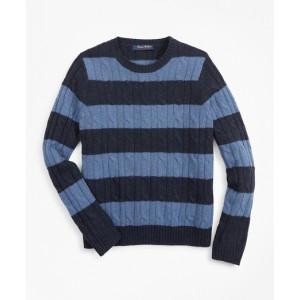 Boys Merino Wool-Blend Stripe Sweater