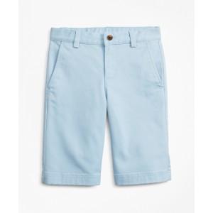 Boys Stretch-Cotton Chino Shorts