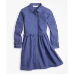 Girls Cotton Shirt Dress