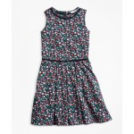 Girls Supima Cotton Floral Dress