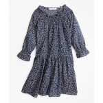 Girls Floral Peasant Dress