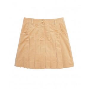 Girls Corduroy Pleated Skirt
