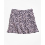 Girls Cotton Stretch Boucle Skirt