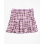 Girls Houndstooth Skirt