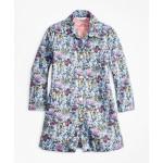 Girls Floral Scalloped Jacket