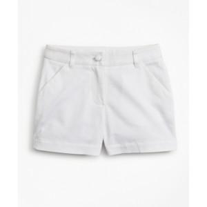 Girls Cotton Twill Shorts