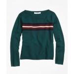 Girls Merino Wool Boatneck Sweater