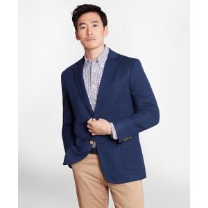 Regent Fit Cotton and Linen Blazer