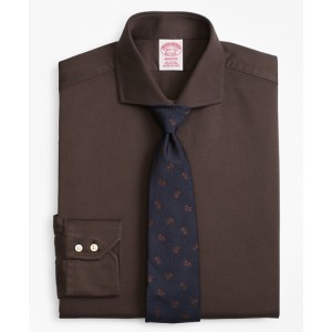 Madison Classic-Fit Dress Shirt, Textured Micro-Check