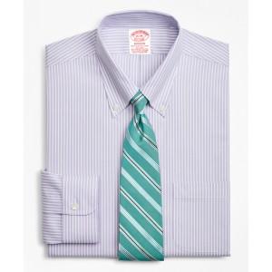 Stretch Madison Classic-Fit Dress Shirt, Non-Iron Stripe